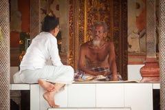Hinduistischer Brahmin Lizenzfreies Stockbild