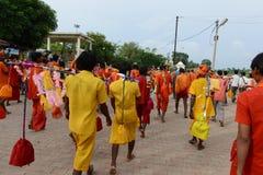 Hinduistischer eifriger Anhänger Lizenzfreies Stockbild