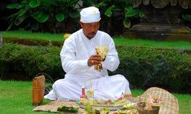 Hinduistischer Priester Stockfoto