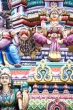 Hinduistischer Tempel-Details Lizenzfreie Stockfotografie