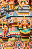 Hinduistischer Tempel in Kuala Lumpur Malaysia lizenzfreie stockbilder