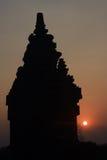 Hinduistischer Tempel Prambanan stockfotos