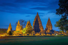 Hinduistischer Tempel Prambanan indonesien Lizenzfreies Stockfoto