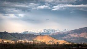 Hindukush mountain range Swat Pakistan. Hindukush  mountain range stretches through Swat valley Pakistan Royalty Free Stock Photo