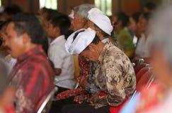 Hindus祈祷 免版税图库摄影