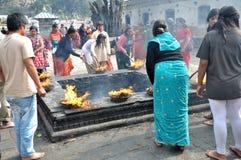 Επίκληση Hindus στοκ εικόνα