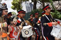 Hindus beröm i Kenya Arkivfoto