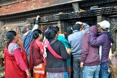 Preghiera di Hindus Fotografia Stock