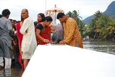 Hindus de Mauricio celebra a Ganesh Chaturthi Foto de archivo