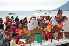 Hindus de Mauricio celebra a Ganesh Chaturthi Fotografía de archivo