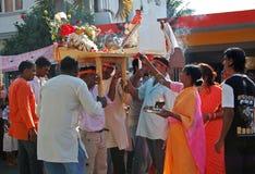 Hindus de Mauricio celebra a Ganesh Chaturthi Fotos de archivo