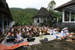 Hindus pray Royalty Free Stock Photo