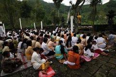 Hindus pray Royalty Free Stock Photography