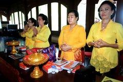Hindus pray Royalty Free Stock Photos