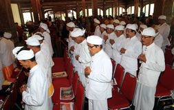 Hindus pray Royalty Free Stock Images