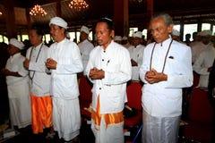 Hindus pray Royalty Free Stock Image