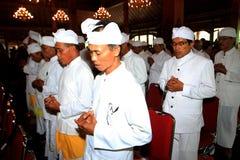 Hindus pray Stock Image