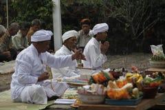 Hindus pray Stock Photography