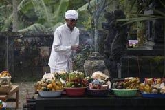 Hindus pray Stock Photo