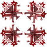 hindusa amerykański ornament Zdjęcia Stock