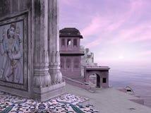 hindusa krajobraz Zdjęcie Stock