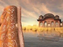 hindusa krajobraz Obraz Stock
