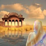 hindusa krajobraz Obrazy Stock