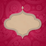 hindusa ramowy styl Fotografia Royalty Free