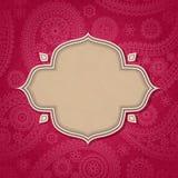 hindusa ramowy styl Fotografia Stock