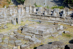 hinduscy avantipur ind Kashmir rujnują świątynię Obrazy Stock