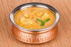 hindusi kurczaka curry fotografia stock