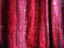 hindusi tkaniny Zdjęcia Royalty Free