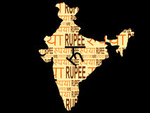 hindusi waluty Obrazy Stock