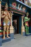 hindusi zobaczyć boskości do świątyni Obrazy Stock