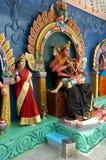 hindusi zobaczyć boskości do świątyni Fotografia Stock