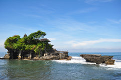 Hinduska świątynia na morzu Fotografia Stock
