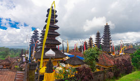 Hinduska świątynia Pura Agung Bali Indonezja Obraz Stock