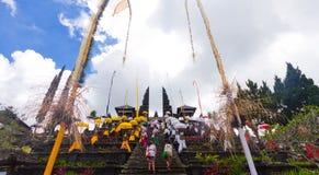 Hinduska świątynia Pura Agung Bali Indonezja Zdjęcia Royalty Free