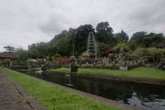 Hinduska świątynia Tirta Gangga na Bali obraz stock