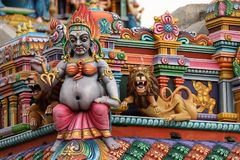 Hinduska świątynia Trincomalee w Sri Lanka Fotografia Royalty Free