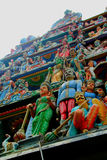 Hinduska świątynia w Kuala Lumpur Zdjęcia Stock