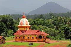 Hinduska świątynia W kulem Goa India zdjęcia stock