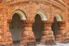 Hinduska świątynia w miasteczku Puthia, Bangladesz Obrazy Royalty Free