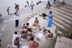 hinduska ceremonia Obrazy Royalty Free