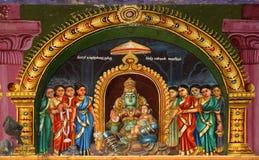 hinduska Madurai meenakshi świątynia obraz stock