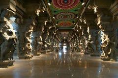 hinduska Madurai meenakshi świątynia zdjęcie royalty free