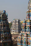 hinduska Madurai meenakshi nadu tamila świątynia zdjęcie royalty free