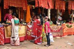 Hinduska pielgrzymka Zdjęcia Royalty Free