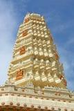 hinduska świątynia migocząca słońce Obrazy Royalty Free