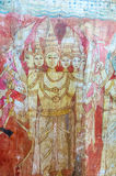 Hinduski bóg w Yudaganawa buddyjskiej świątyni Obrazy Royalty Free